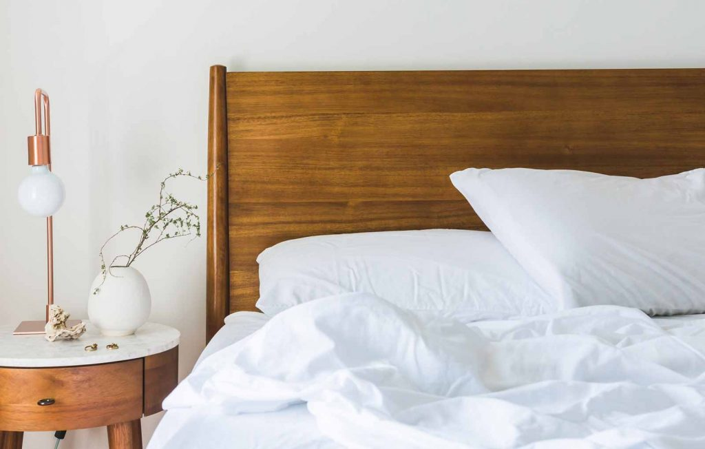 Bed and nigh stand - Neem oil for bed bugs